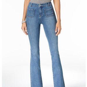 Denim - NEW Wide Leg Denim Jeans Boho Chic Size 29x33